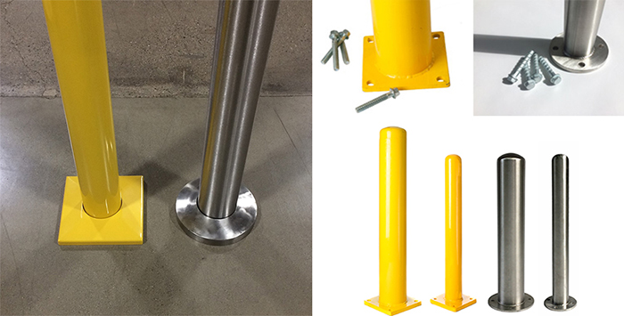BASE PLATE BOLT DOWN BOLLARDS